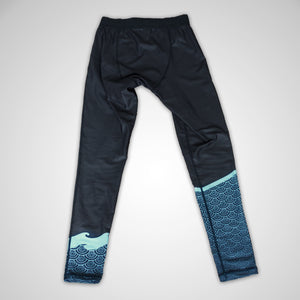 Ocean Vibes Leggings (Spats) Collaboration