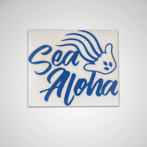 Sea Aloha 5in x 4.25in Sticker