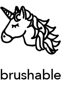 brushable
