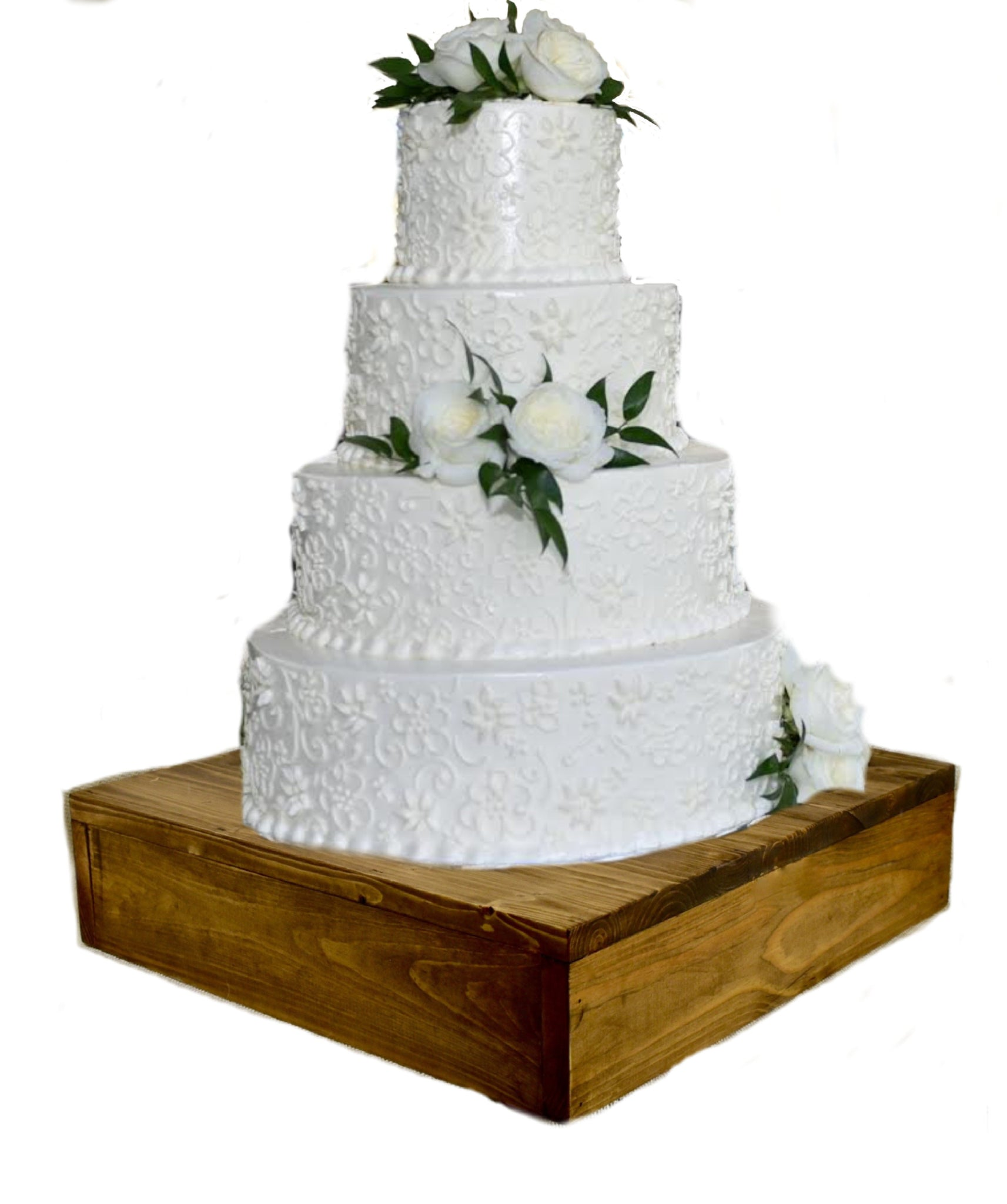 16 Inch Square Cake Stand Wedding Cake Stand Square Platform Or Display Stand