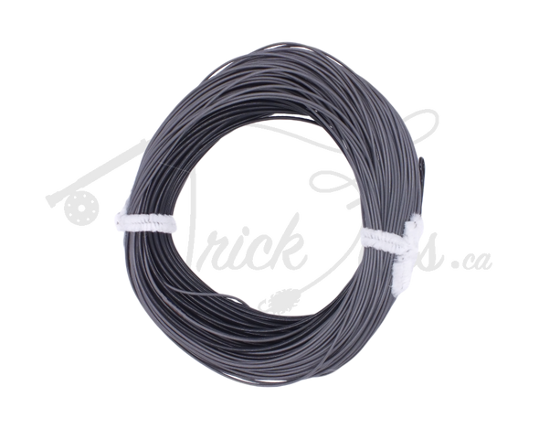 Bottom Feeder Weight Forward Intermediate/Sinking Line Grey/Black - Trickflies