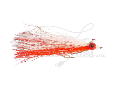 Clouser Minnow Red/White - Trickflies