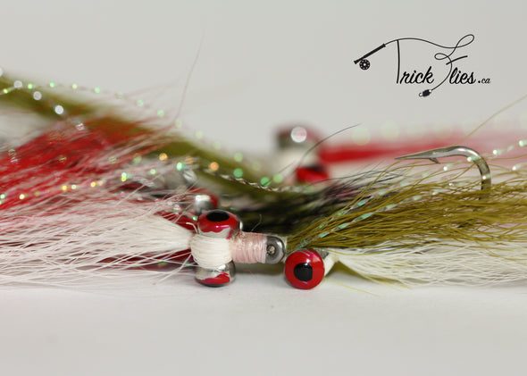 Clouser Minnow 15 Fly Collection - Trickflies