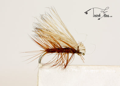 Elk Hair Caddis Brown - Trickflies