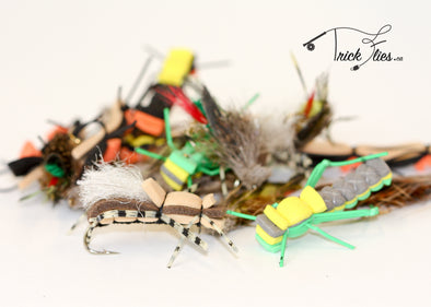 Terrestrial 23 Fly Collection - Trickflies