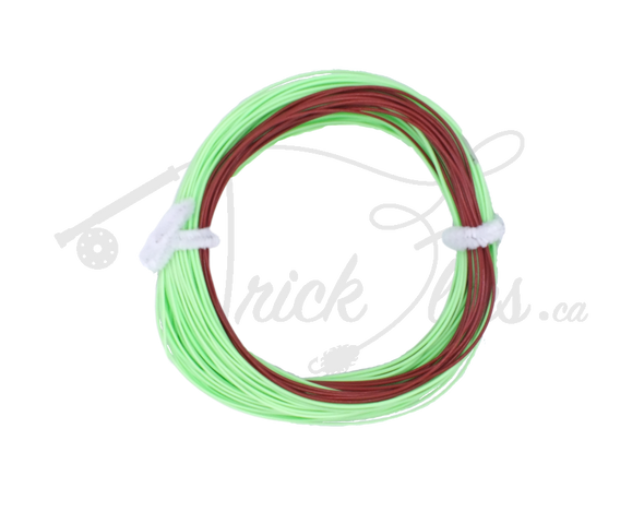 Pro-Drift Streamer Sink-Tip Line Weight Forward Lime/Brown - Trickflies
