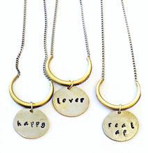 ✨chill, lover, happy, fuck it necklace✨