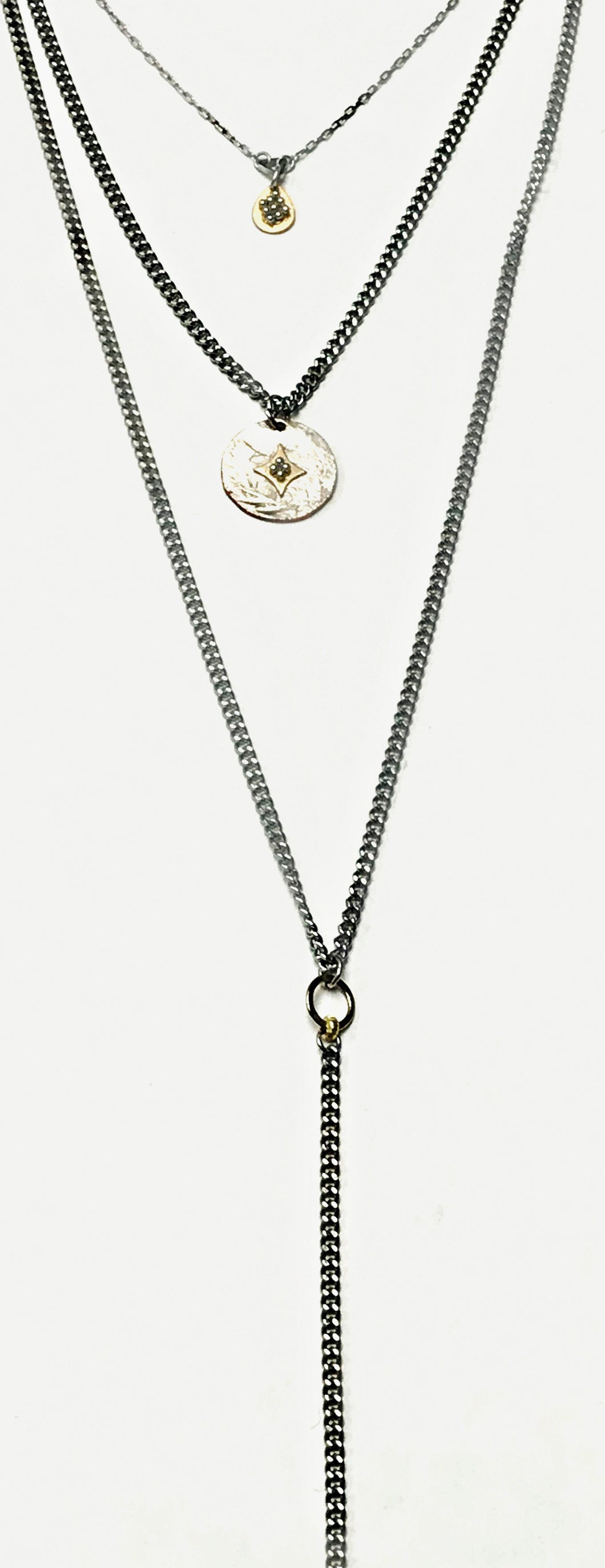 ✨triple layered coin y necklace✨