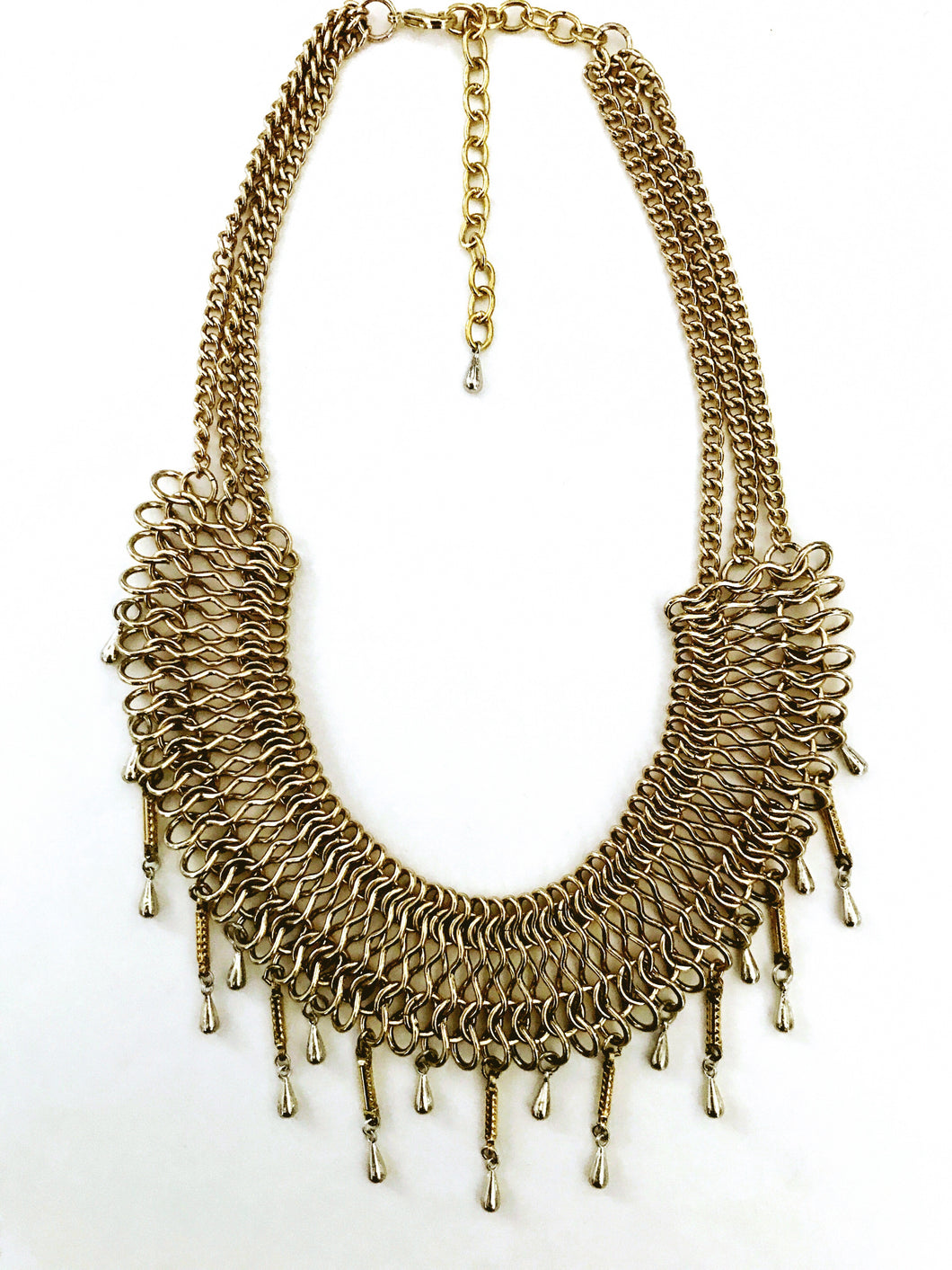 Gold and silver collar Necklace