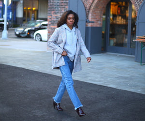 Outfit Formula: How to Wear A Boyfriend Blazer
