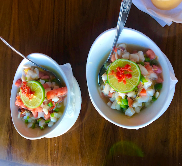 Conch Salad from Sharkeez Bahamas in Nassau, Bahamas