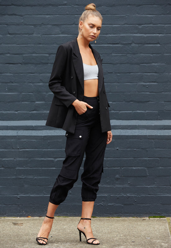 Black Cypress Cargo Pant - Coveted Style