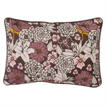 Brown Floral Throw Pillow - Cultur'd Collective