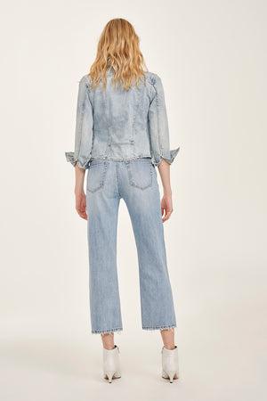 Kasey High Rise Cropped Denim - Coveted Style