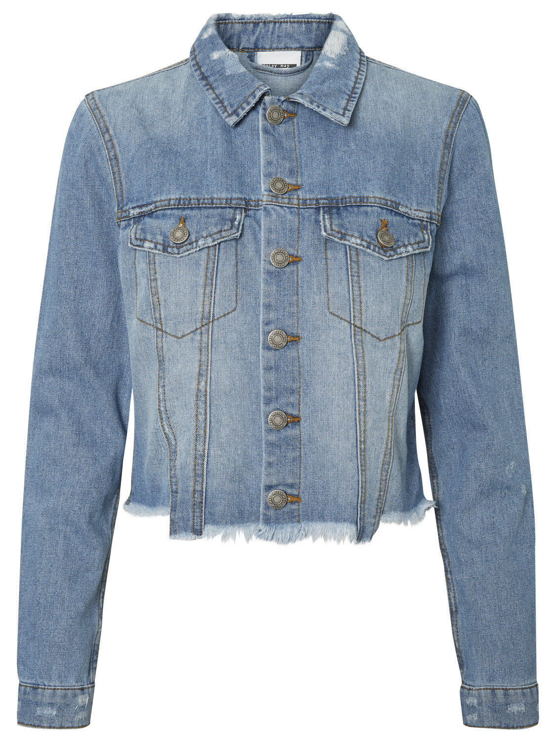Cropped Denim Jacket - Coveted Style