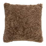 Mongolian Sheep Fur Pillow - Coveted Style