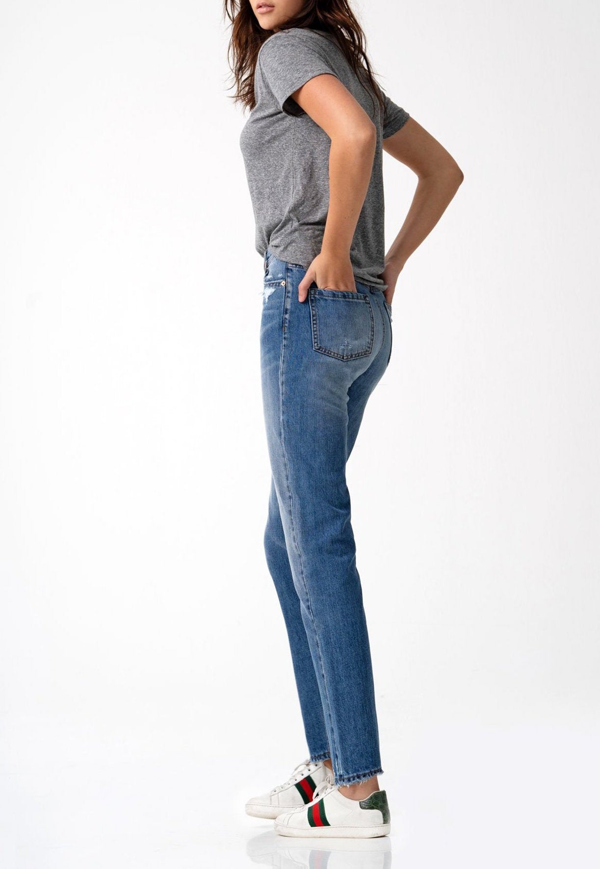 Piper High Rise Straight Manchester Jeans - Coveted Style