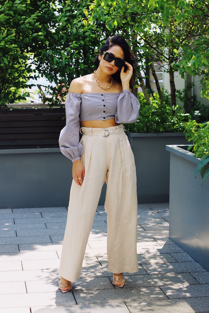 The Smith Linen Trouser - Coveted Style