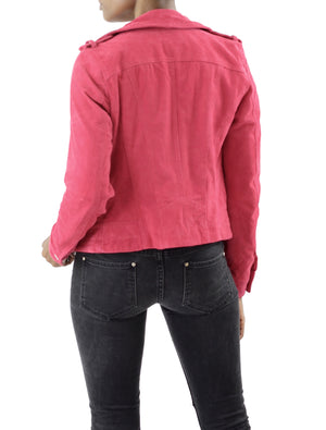Royce Short Suede Jacket - Coveted Style