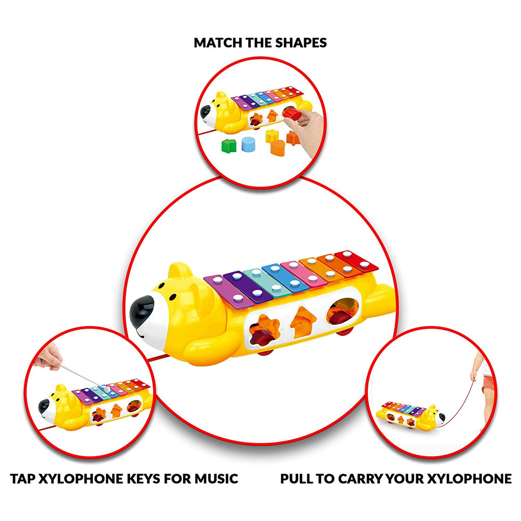 Stone and Clark Baby Xylophone Instrument w/ Play Blocks ...