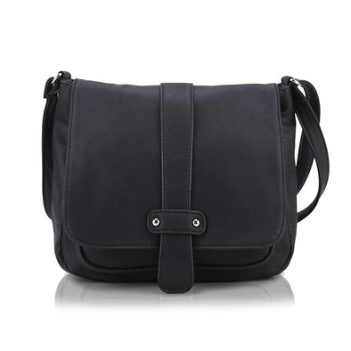 Accent Strap Flap Crossbody Bag H1539