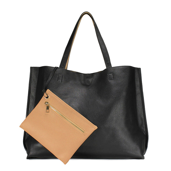 Stylish Reversible Tote Handbag H1842