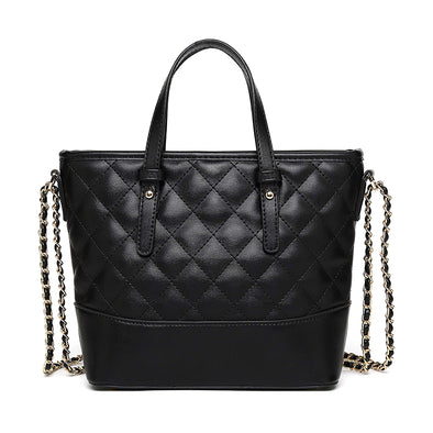 Chic Quilted Satchel Shoulder Bag H2071