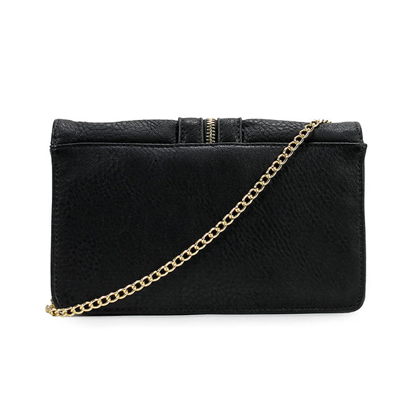 Chic Decorative Center Zip Crossbody Bag H1780