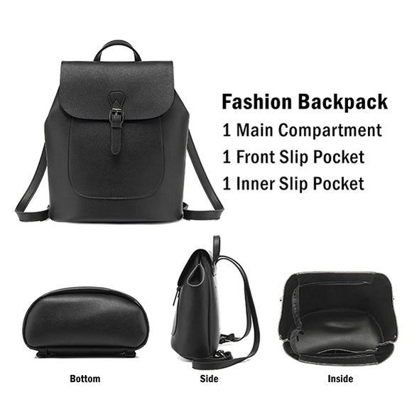 Chic Casual Fashion Handbag, Backpack H2079