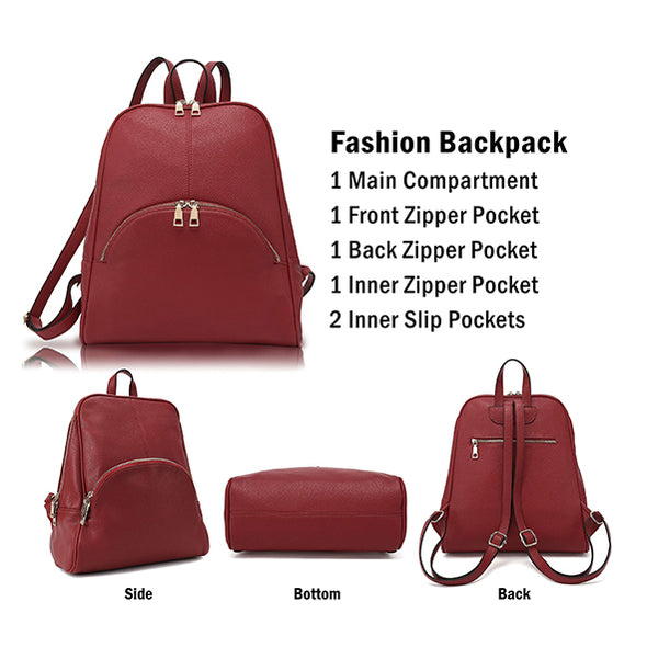 Chic Casual Backpack H1608