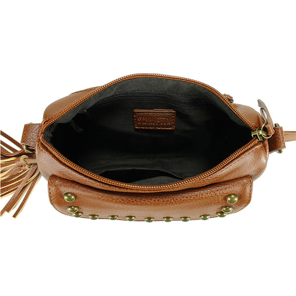 Small Tassel Crossbody H1941
