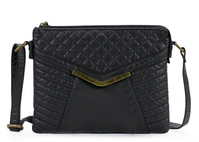 Quilted Crossbody Bag H1893