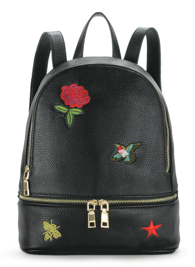 Fashionable Small Duo Zip Backpack H2009