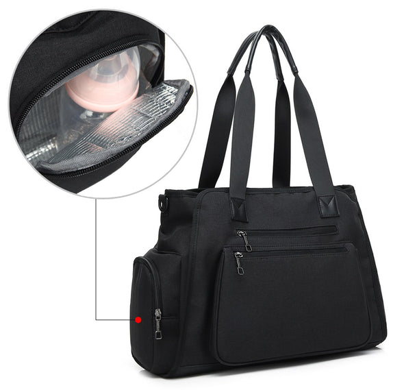 Water Resistant Shoulder Handbag H2051