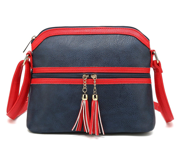 Small Crossbody Tassel Shoulder Bag H2072