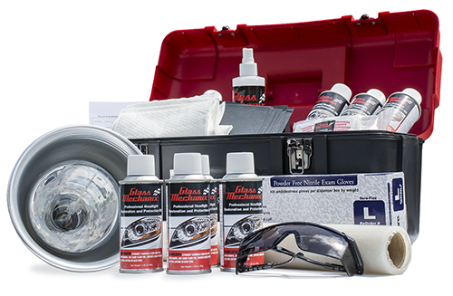 Headlight Restoration Professional Kit (UPS GROUND ONLY)