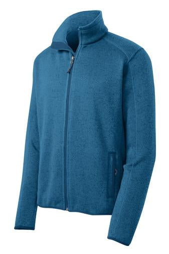 F232 Port Authority® Sweater Fleece Jacket