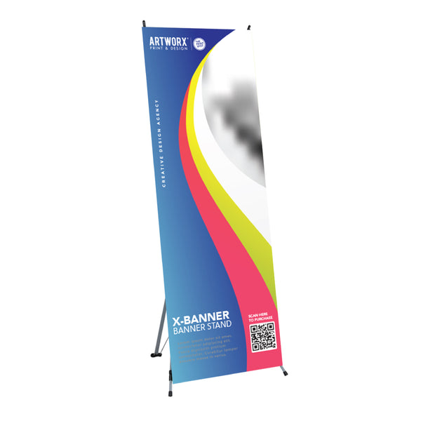 X-Banner Economical Banner Stand