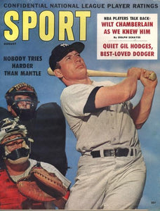 August 1960 Sport Cover