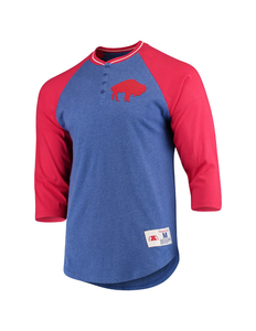 Buffalo Bills 4-Button Henley