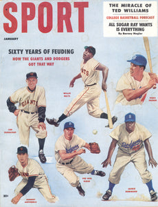 January 1958 Sport Cover