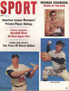 July 1960 Sport Cover