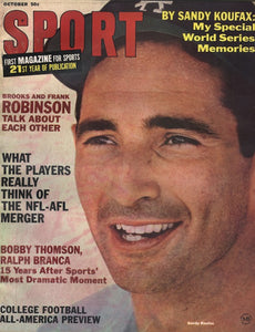 October 1966 Sport Cover