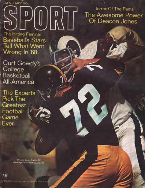 January 1969 Sport Cover