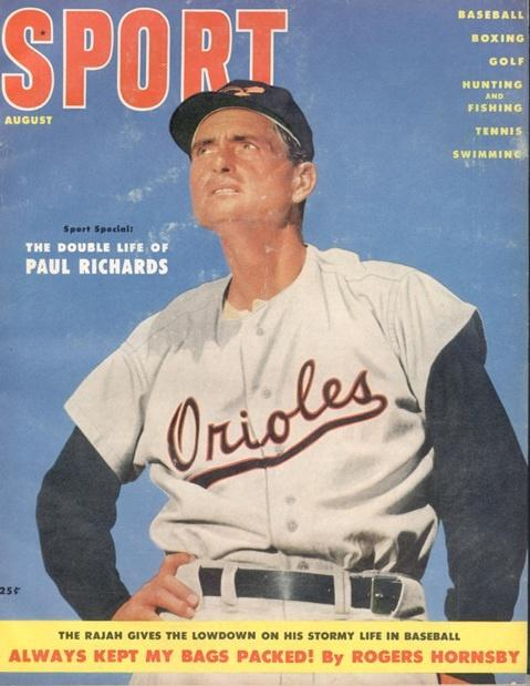 August 1955 Sport Cover