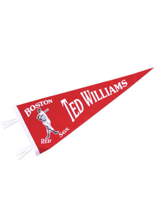 Boston Red Sox Ted Williams Pennant