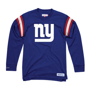 New York Giants Team Captain V-Neck Longsleeve