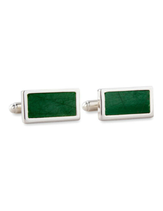 Boston Garden Green Floor Cufflinks