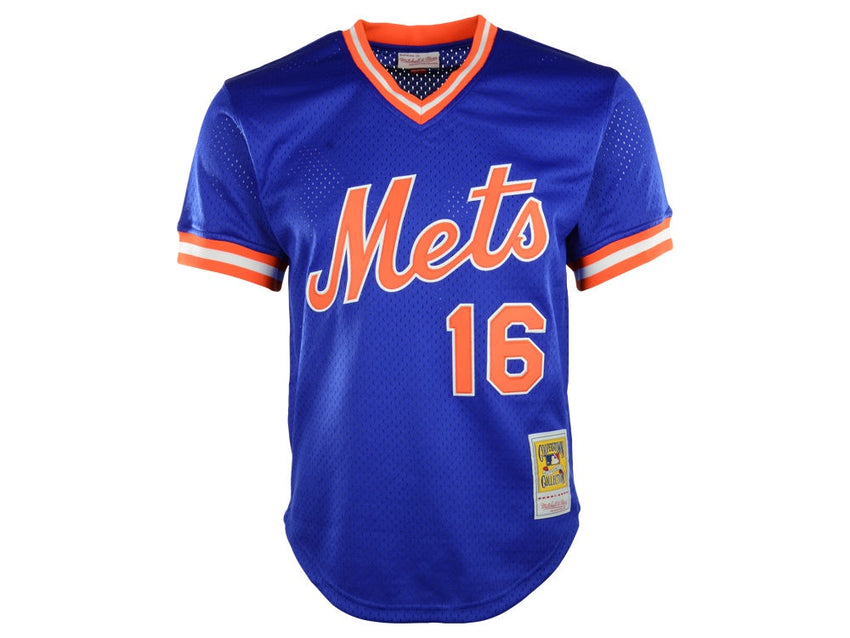 New York Mets 1986 Dwight Gooden Batting Practice Jersey