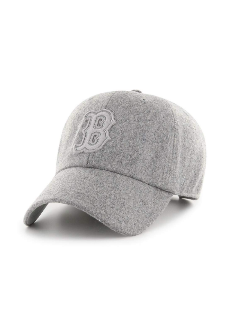 Boston Red Sox Lettermen Clean Up - Gray